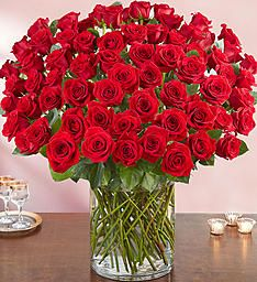 100 Stems Red rose