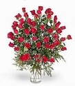 5 Dozen red rose Happy Valentine Day
