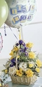Baby Boy Bouquet with Balloons