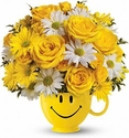Be Happy® Bouquet Flowers