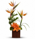 Birds of Paradise bouquet