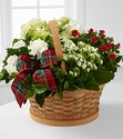 Blooming Inspirations Holiday Basket