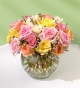 BUBBLE BOWL Rose BOUQUET