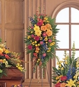 Celebration of Life Standing Spray Flowers