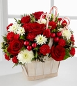 Christmas Candy Cane Lane Bouquet