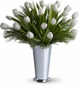Christmas Flowers >Tulips and Pine Flowers