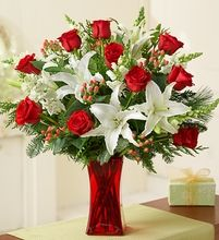 Christmas Roses Bouquet