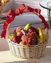 Fresh Fruit and Cheese Basket