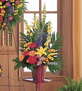 Funeral Flower Bouquets >Celebration of Life Arrangement Flowers