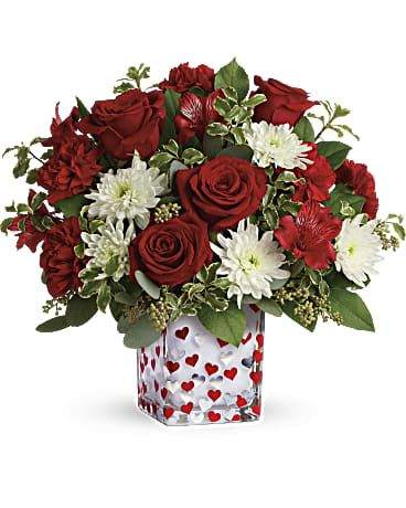 Valentines Flower Gift Irving TX Florist Shop Delivery Grand Prairie Coppell