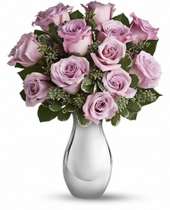 Lavender Roses and Moonlight Bouquet