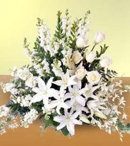 Light In Your Honor Arrangement  Funeral flowers