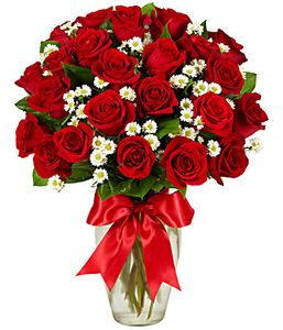 Luxury One and a Half Dozen Roses
