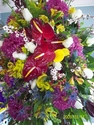 Mixed tropical flower Sympathy