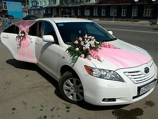 Wedding Car decor Flower