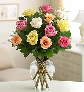 Premium Long Stem Assorted Roses Mother day