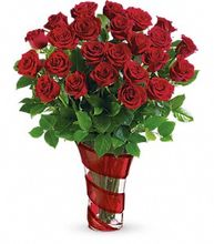 3 Dz Red Rose Bouquet  Irving