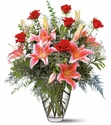Roses & Fragrant Lilies Bouquet