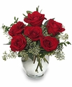 Rosey rose bouquet