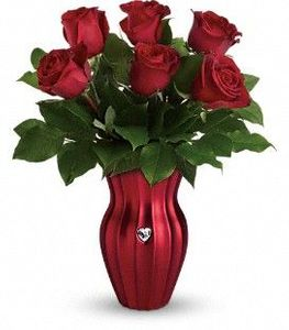 Shining Heart Bouquet Rose Delivery Irving