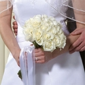 Simply White Roses Bouquet