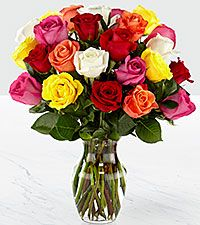 large Spring Mixed rose Mother Day