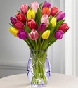 Spring Tulip Bouquet vase limit variety