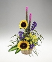 Sunflowers Basket Arrangement
