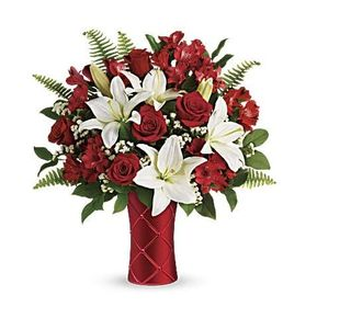 Sweetest Satin Bouquet LG- ROSE