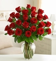 Two Dozen Premium Long Stem Red Roses Valentine