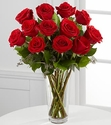 Valentine Long Stem Red Rose Bouquet
