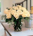 White Sympathy Flowers White Roses Flowers