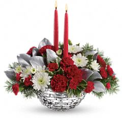 Winter Magic Centerpiece Flowers