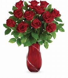 Romance her with  Roses Bouquet Love