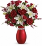 XOXO Bouquet with Red Roses