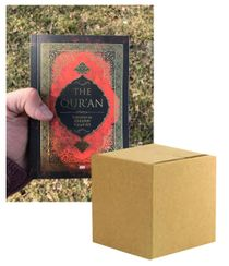 "The Qur'an Translation by Abdullah Yusuf Ali (Nice Gold Cover Edition; 3 Color Print) CASE OF 50 COPIES English Only 4.5"" x 6.25"" - High Presentation Quality; Great for Dawah (Bulk) ELIGIBLE FOR FREE USA SHIPPING"