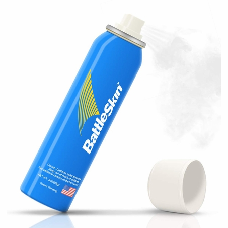 BattleSkin Body & Equipment Sanitzer Can (70% alcohol)