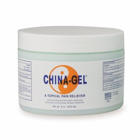 China Gel 8 oz Jar