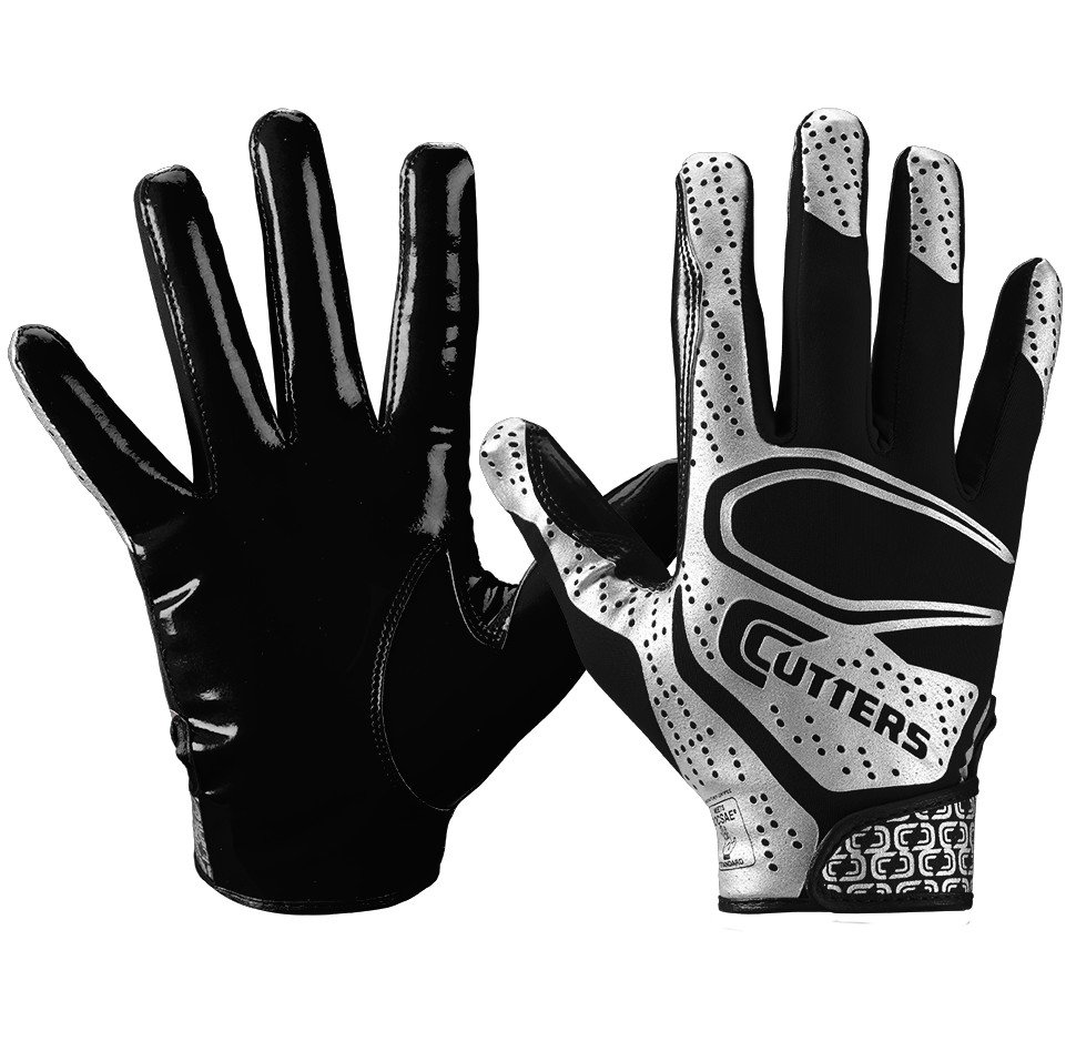 Cutters s251 Football Gloves - -- Free Shipping -- Ithaca Sports ded86c9df5bb