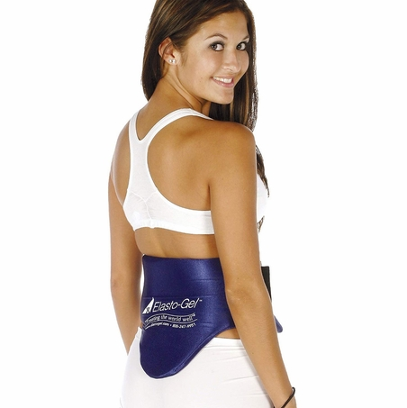 Elasto-Gel Small Lumbar Wrap Hot / Cold Therapy Gel