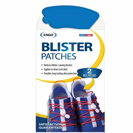 ENGO Back of Heel Blister Patches (2 Pack)