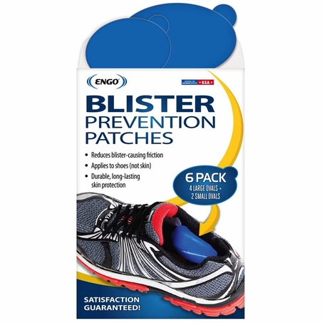 ENGO Oval Blister Patch (6 Pack) Mixed