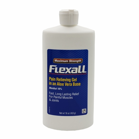 Flexall Maximum Strength Pain Relieving Gel 16 oz (used to be labeled 454)