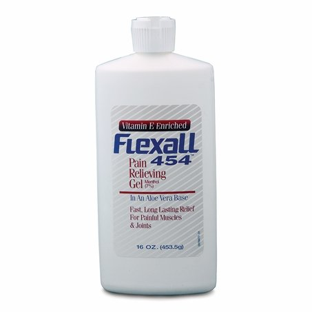 Flexall 454 Pain Relieving Gel 16 oz