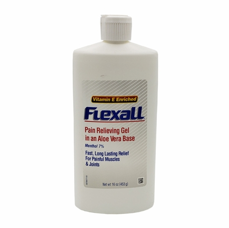 Flexall Pain Relieving Gel 16 oz (used to be labeled 454)