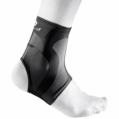 McDavid 6301 Dual Compression Ankle Sleeve - Charcoal-Black