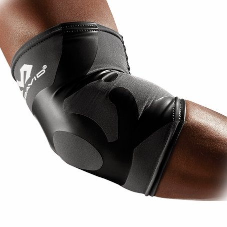 McDavid 6302 Dual Compression Elbow Sleeve - Charcoal-Black