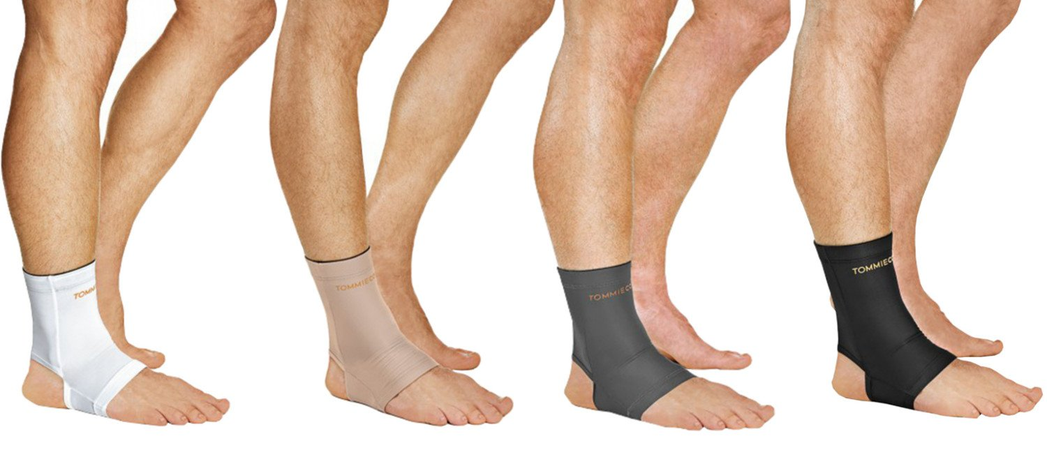 5dfd571be0 Tommie Copper Men's Core Compression Ankle Sleeve -- Free Shipping --  Ithaca Sports