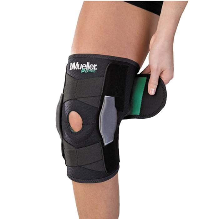 c03222b969 Mueller Eco-Friendly Adjustable Hinged Knee Brace -- Free Shipping --  Ithaca Sports