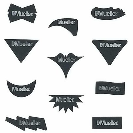 Mueller No Glare Glare Reducing Strips Assorted Shapes